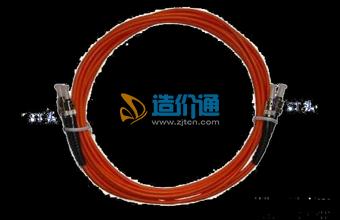 海光电信级多模ST-ST3M光纤连接器光纤跳线图片