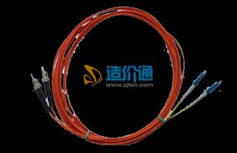 海光电信级多模LC-ST3M光纤连接器光纤跳线图片