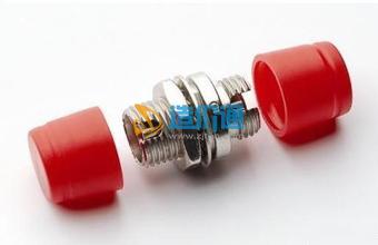 海光电信级FC圆头单模光纤适配器耦合器法兰盘图片