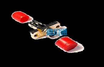 海光电信级FC-ST光纤法兰盘光纤适配器光纤耦合器图片