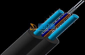 海光HG-FTTH双芯自承式室外皮线光缆图片