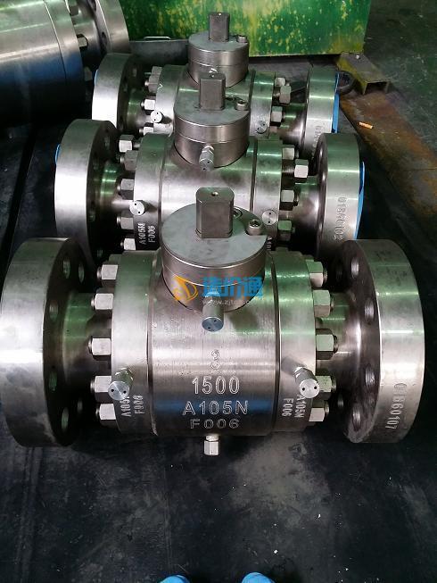 Q47N高磅级锻钢球阀图片