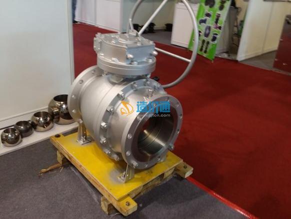 Q347F固定式球阀图片