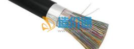 铜芯实心聚烯烃绝缘挡潮层聚乙烯护套市内通信电缆图片