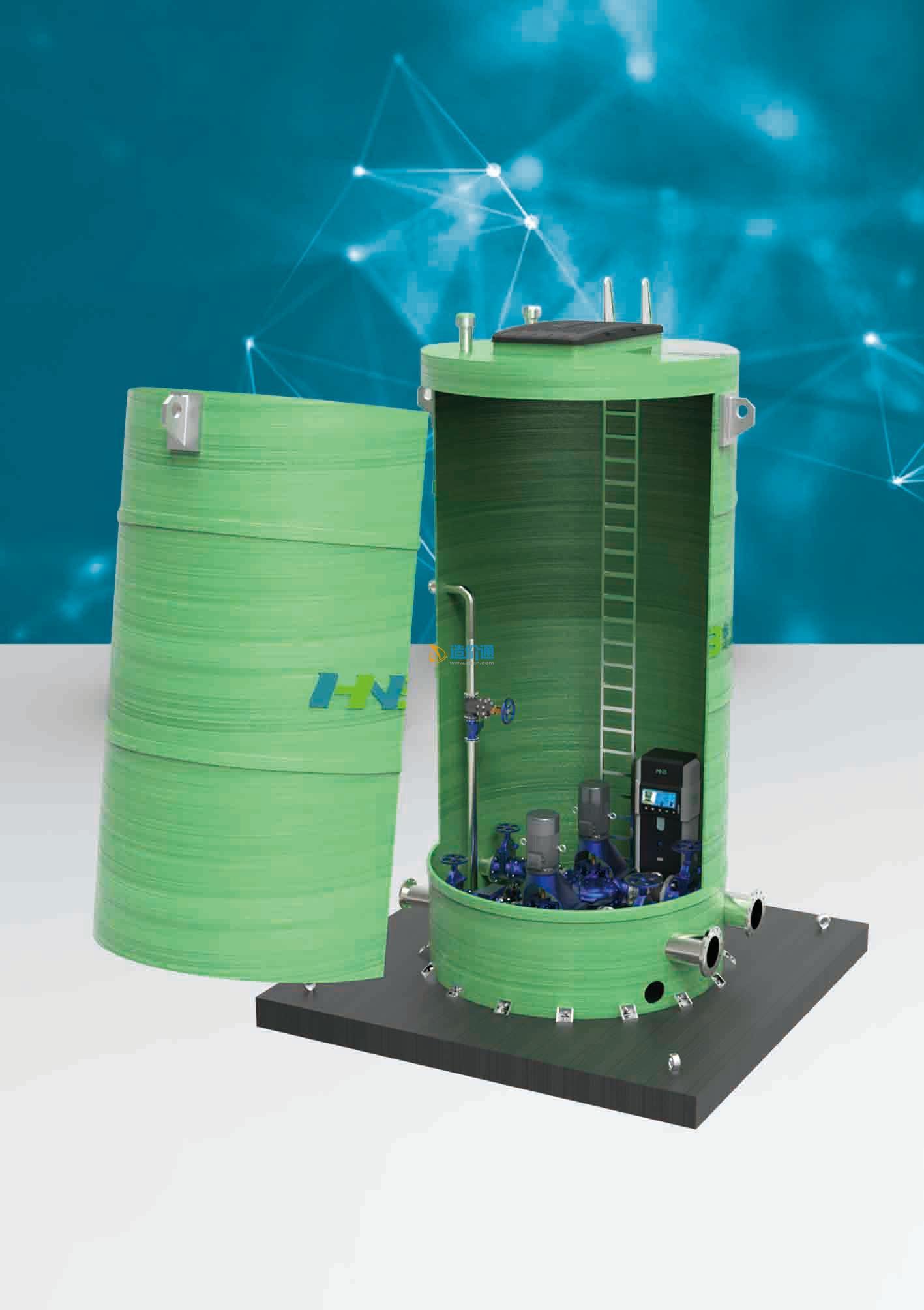 一体化预制泵站图片