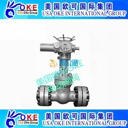 进口电动闸阀进口电动蒸汽闸阀图片