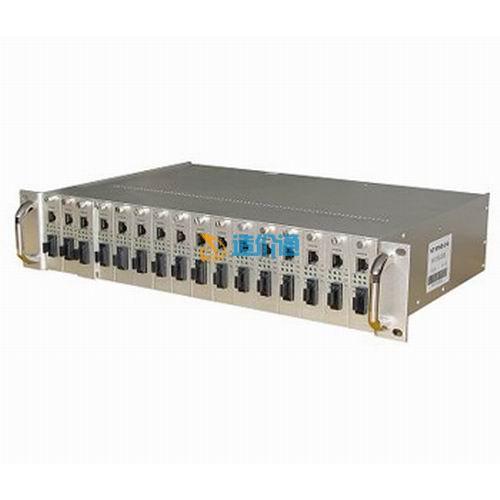 海光HG-R16常规型16槽光纤收发器机架图片