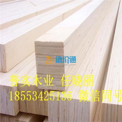 免熏蒸木方LVL板条LVL胶合板条图片