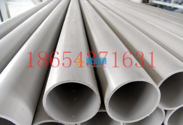 PVC排水管农田灌溉管实壁管过水管去水管图片
