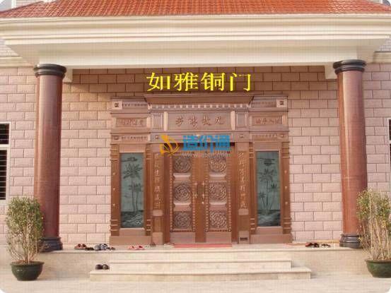 别墅铜门酒店铜门会所铜门图片