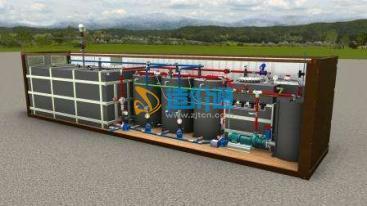 一体化强化除磷景观水处理设备图片